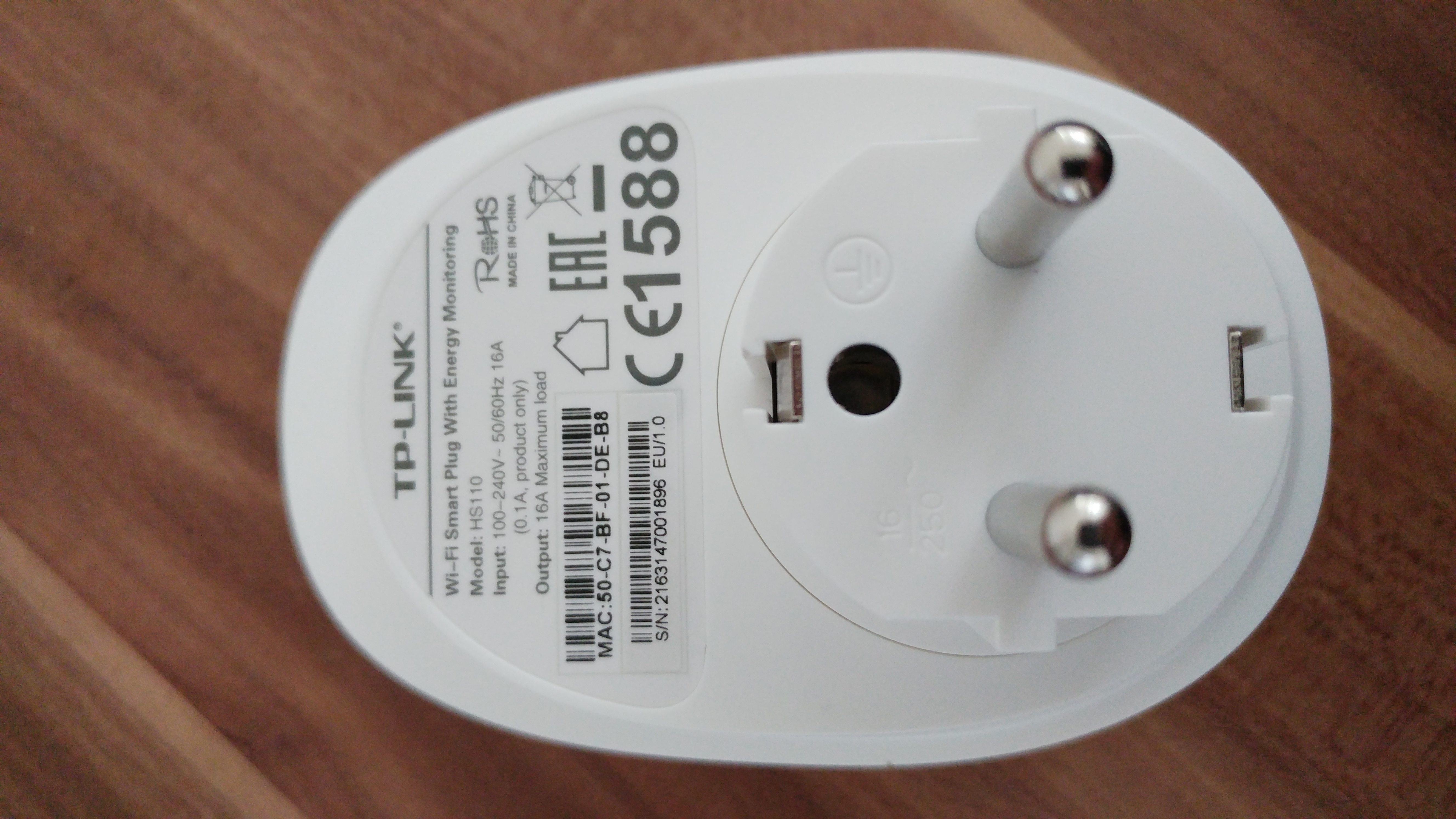 The HS-110 Smart Plug aka Projekt Kasa - Cureblog